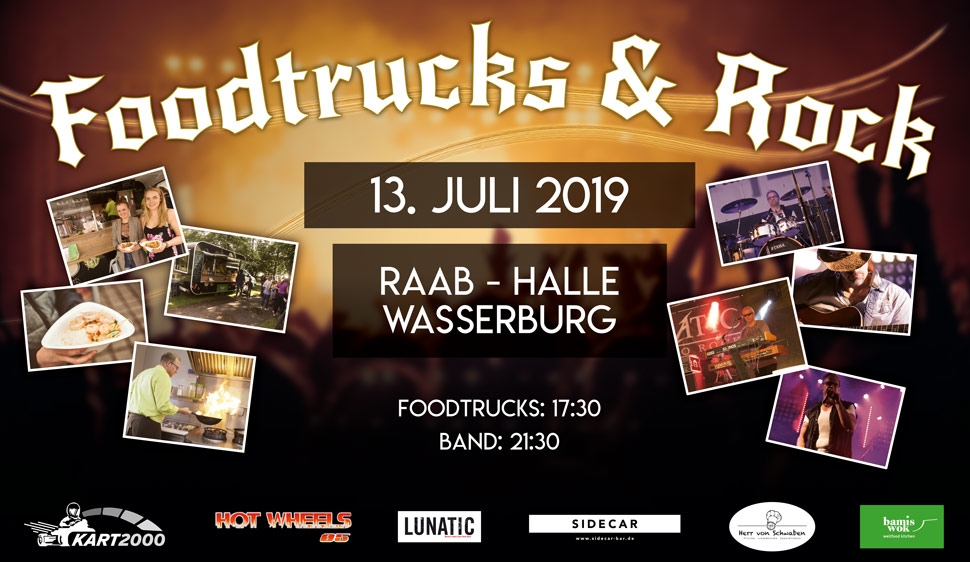 13.07.2019 Foodtrucks & Rock